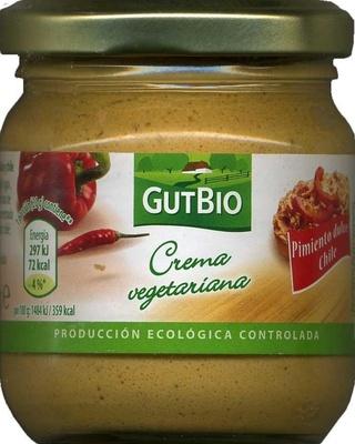 Crema vegetariana Pimiento dulce Chile - Product - es