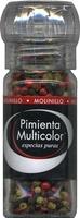 Pimienta multicolor en grano molinillo - Produit