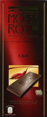 Edel-Zartbitterschokolade Chili 52 % Kakao - Produit