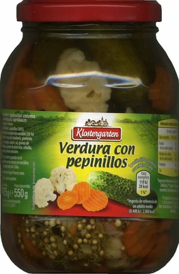 Verdura con pepinillos - Produit