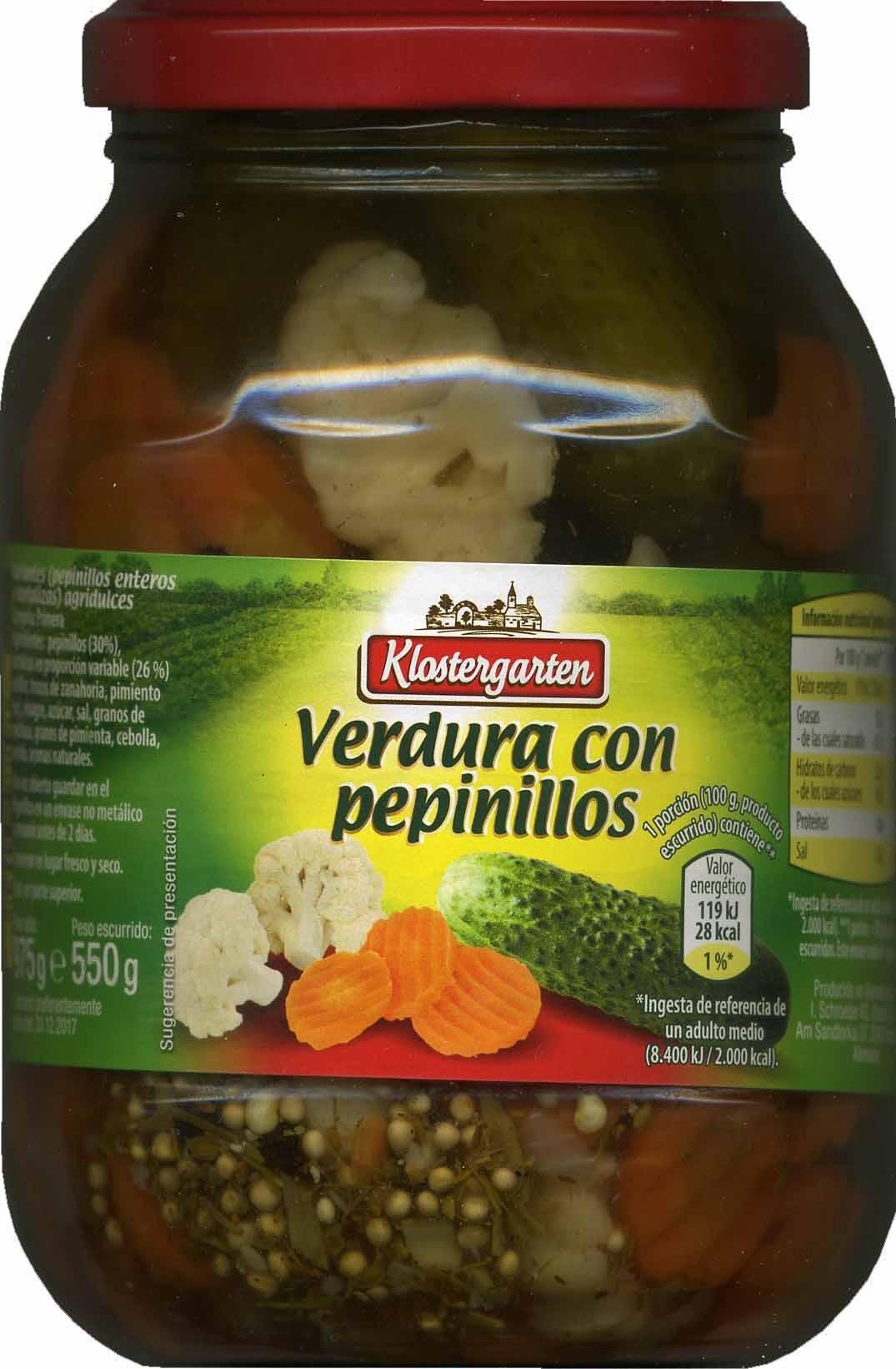 Verdura con pepinillos - Produit - es