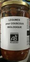 Légumes pour couscous biologique - Produit - fr