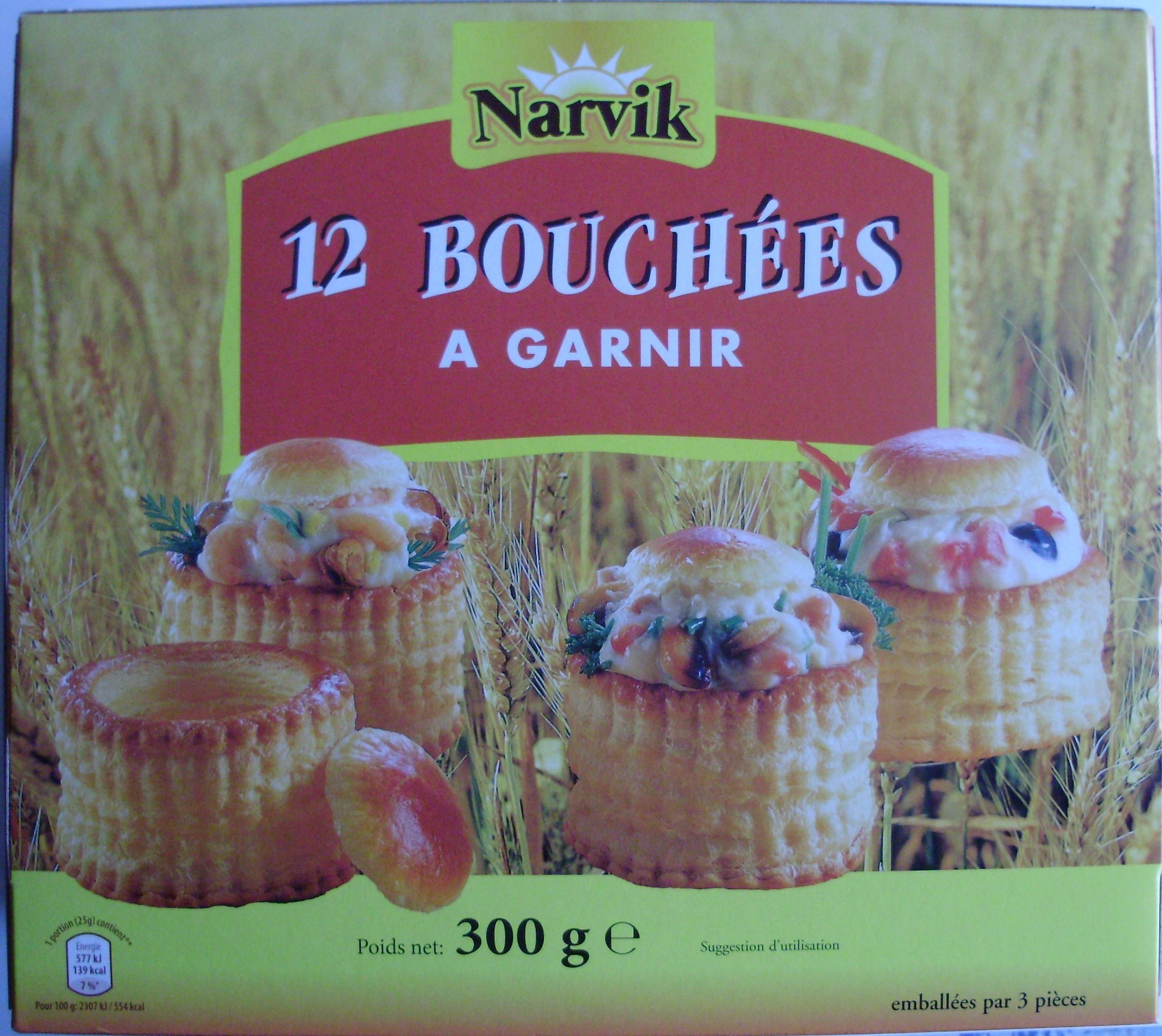 12 Bouchées à Garnir - Product