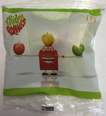 Trio de pommes - Produit - fr