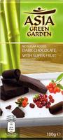 Chocolate negro con edulcorantes con frutas 54% cacao - Producto