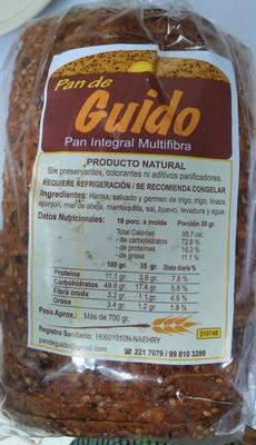 Pan de Guido - Product