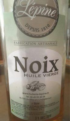 Huile de noix vierge - Produit - fr