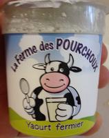 Yaourt fermier nature - Product - fr