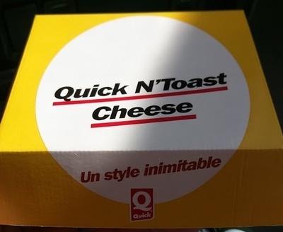 Quick N'Toast Cheese - Produit - fr
