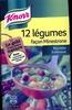12 légumes façon minestrone recette italienne - Produit