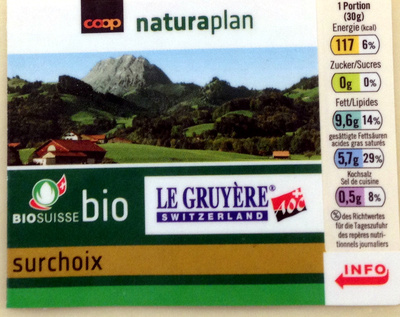 Gruyère surchoix - Prodotto - fr