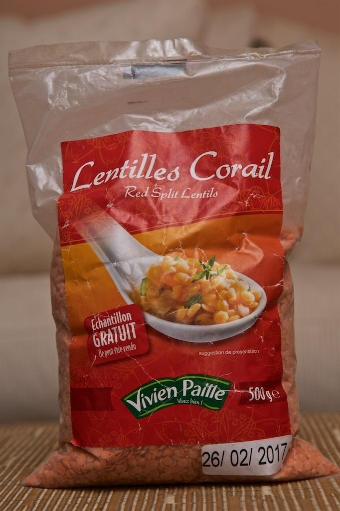 Lentilles Corail - Product - fr