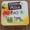 Purée Pommes Bio - Product