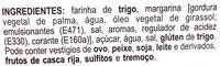 Palmier - Ingredients - pt