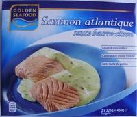 Saumon atlantique sauce beurre-citron, Surgelé - Product - fr