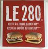 Le 280 recette au Gruyère de France IGP - Produit