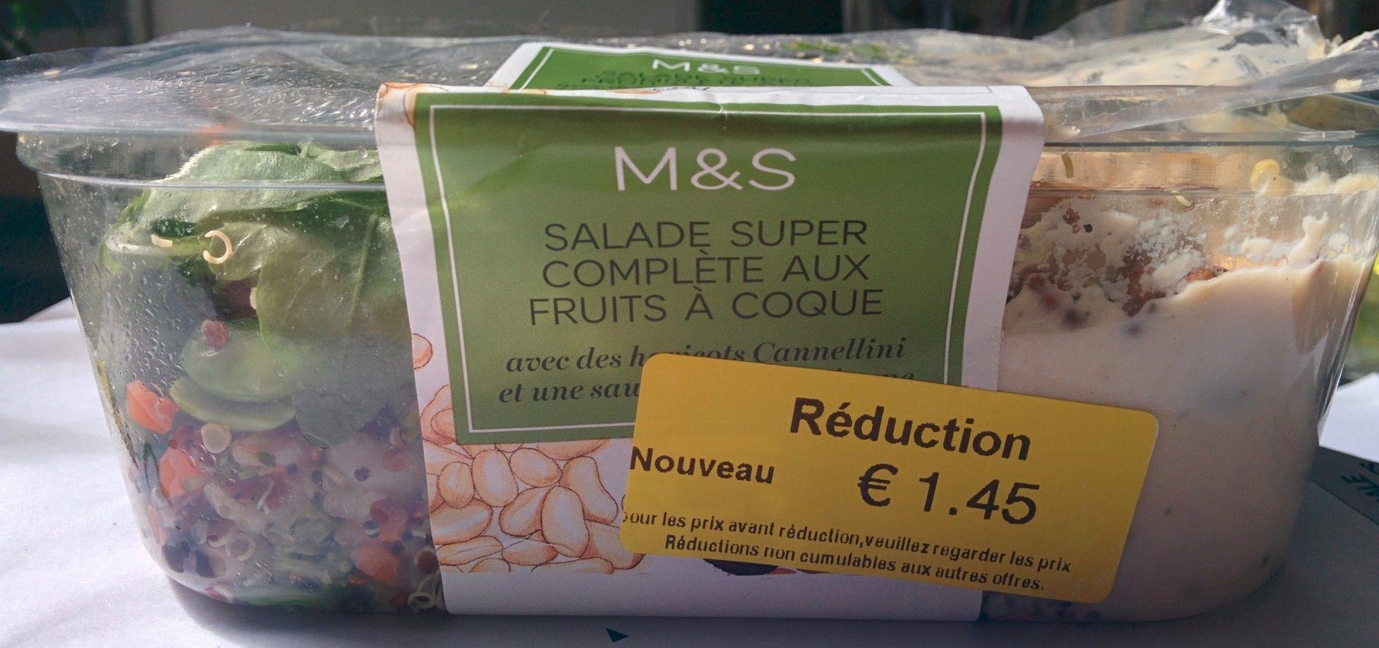 Salade Super Complète aux Fruits à Coque - Product - fr