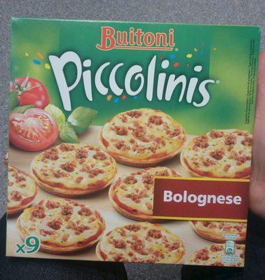 Piccolinis Bolognese - Produit