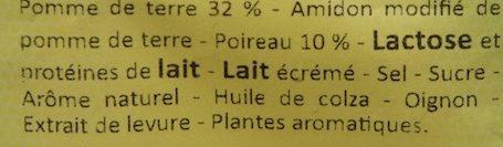 Neff - Potage Poireaux et Pommes de Terre - Ingredients - fr