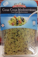 Cous cous mediterráneo - Producto