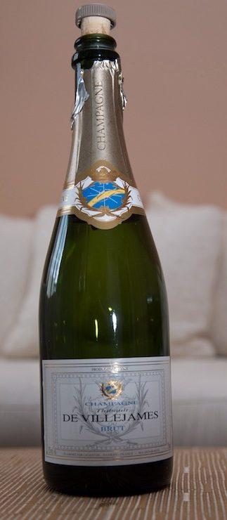 Champagne Thibault de Villejames Brut - Produit - fr