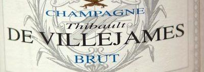 Champagne Thibault de Villejames Brut - Ingrédients - fr