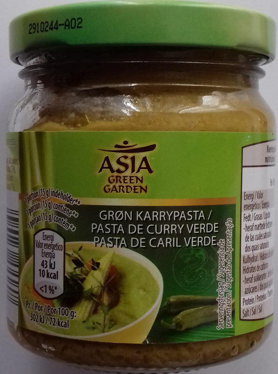 Pasta de curry verde - Producto - es