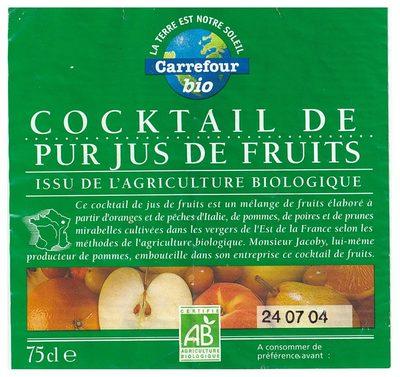 Cocktail de Jus de pur jus de fruits - Produit - fr