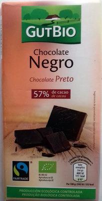 Chocolate negro 57% de cacao - Producte