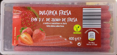 Dulcipica fresa - Produit - es