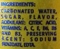 Ciego Montero Pineapple - Ingredients