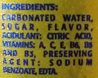 Pineapple - Ingrediënten - en