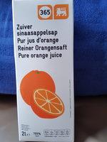 Pur jus d'orange DELHAIZE - Product - fr