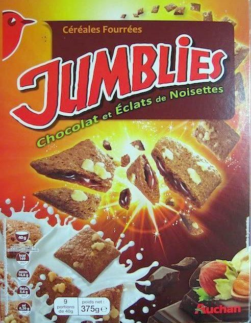 Jumblies Chocolat et Eclats de Noisette - Product - fr