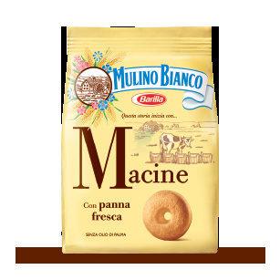 Macine Mulino Bianco - Ingredients
