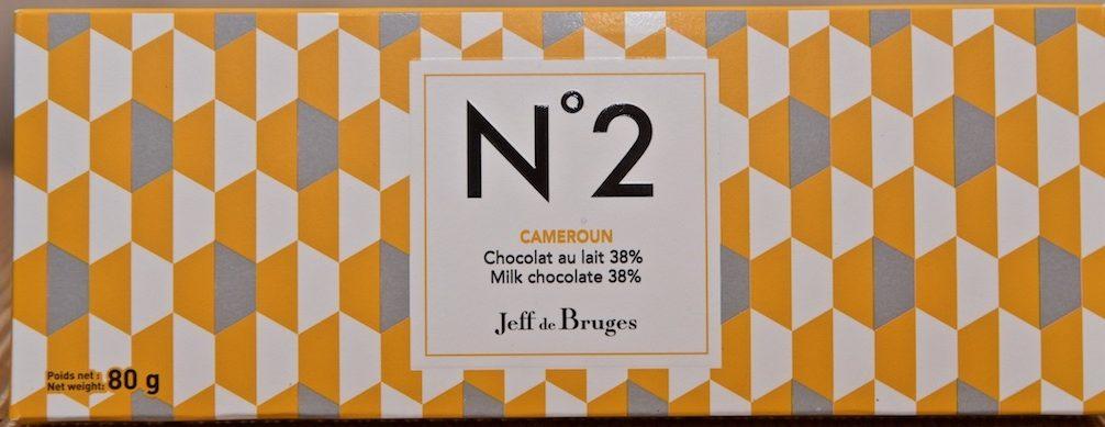 Tablette N°2 Cameroun Lait 38% - Product