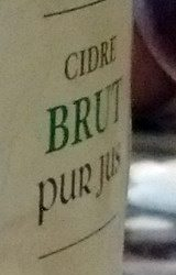 Les 3 Frères - Cidre Fermier Brut (5%) - Ingredients