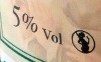 Les 3 Frères - Cidre Fermier Brut (5%) - Nutrition facts