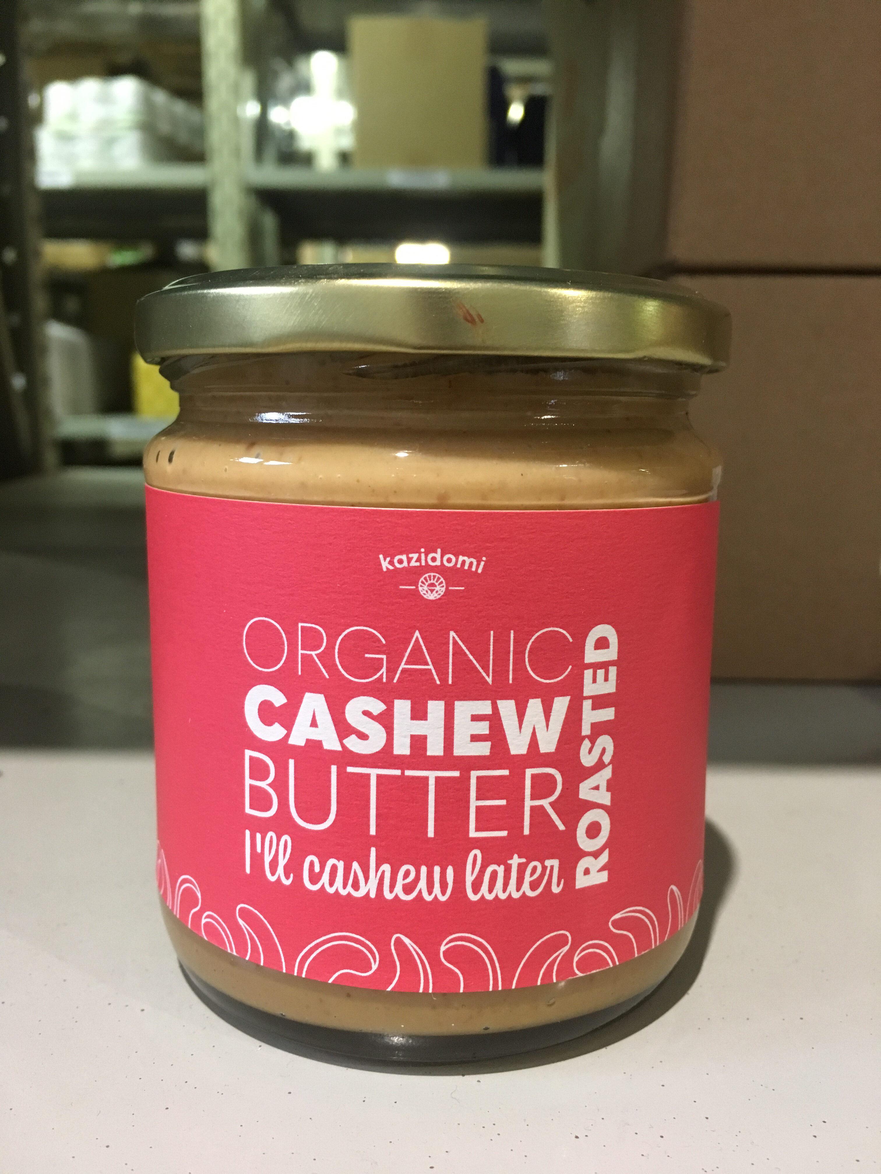 Organic Cashew Butter - Product