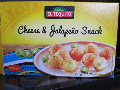 Cheese & Jalapeño Snack - Produit