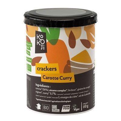 Crackers carotte curry - Produit - fr