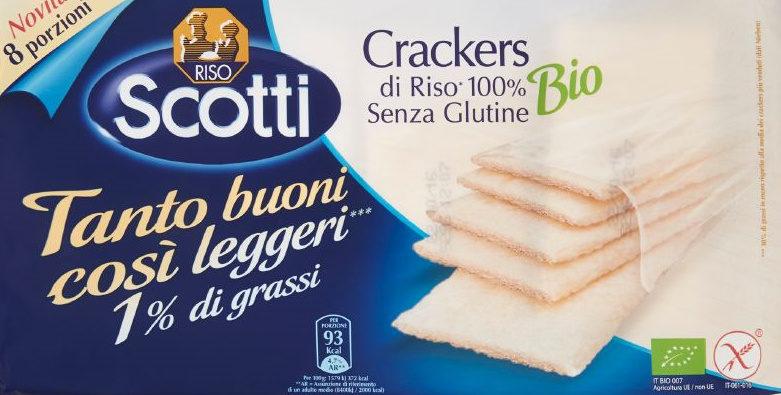 cracker di riso bio Riso Scotti - Produit - it