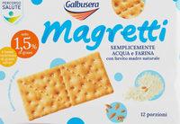 Magretti crackers Galbusera - Product