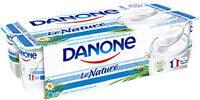 Yaourt nature Danone - Product - fr