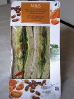 Sandwich Poulet et Sauce à la Mayonnaise Épicée - Product - fr