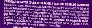 N°6 Caramel à La Fleur De Sel - Ingrediënten
