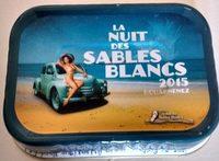 Sardines à l'Huile d'Olive Vierge Extra - La Nuit des Sables Blancs 2015 Douarnenez - Product - fr