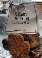Sablés Bretons au Thé de Noël - Produit