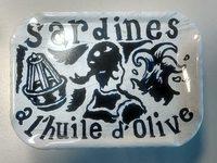 Sardines à l'Huile d'Olive - Collection Créateurs de Langage Design - Produit
