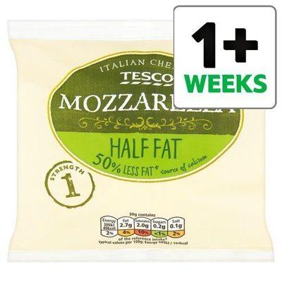 Tesco Half Fat Mozzarella - Produit - en